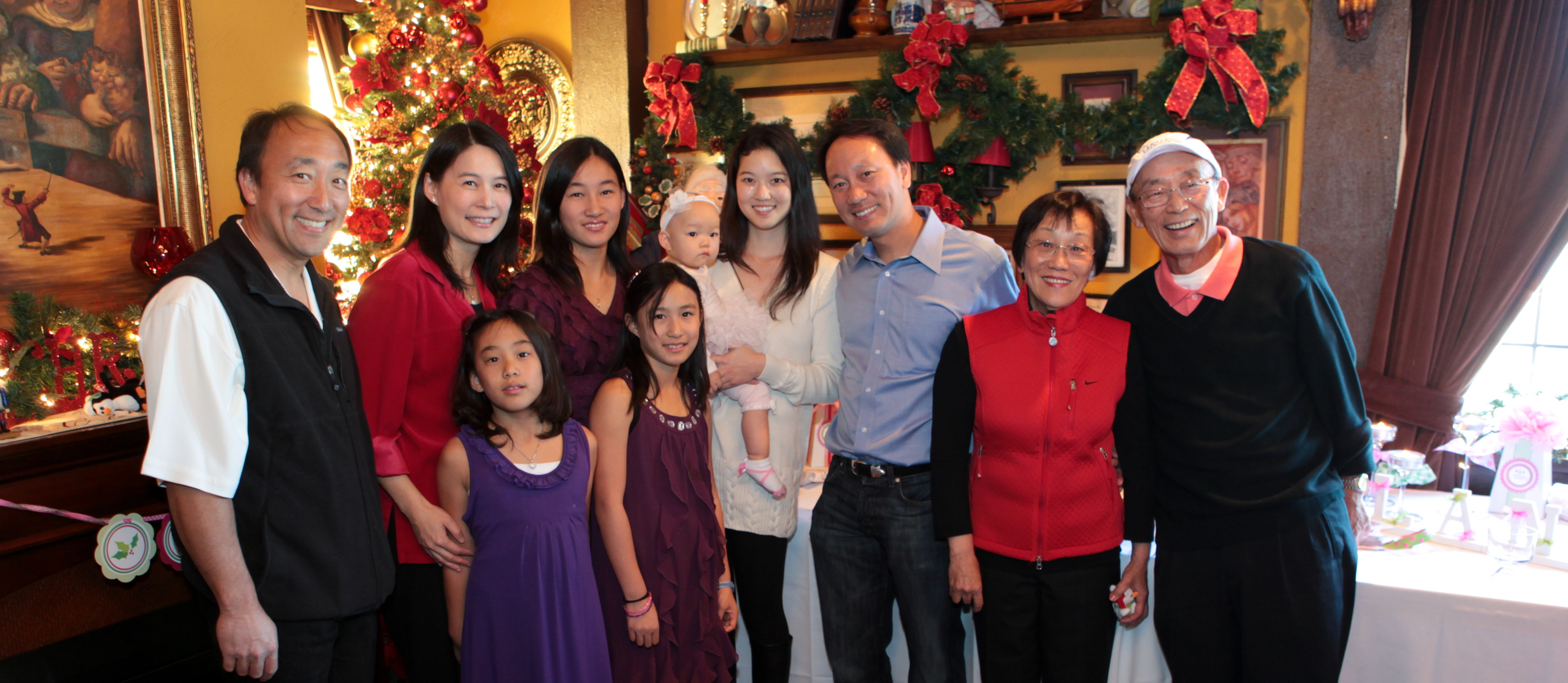 Chang Family Foundation Merry Christmas from Michael Chang 2011